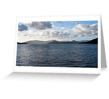Carnley Harbour Greeting Card
