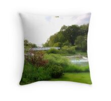Springtime in Michigan Throw Pillow