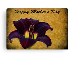Mother's Day Lily Canvas Print