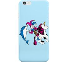 The Unicorn and the Jester iPhone Case/Skin