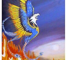 'Phoenix Rising' by shakoora2
