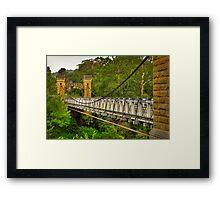 Historic Hampden Bridge Framed Print