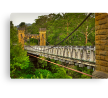 Historic Hampden Bridge Canvas Print