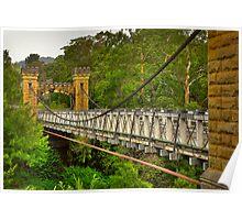 Historic Hampden Bridge Poster
