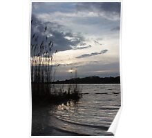 Squibnocket Pond Sunset Poster