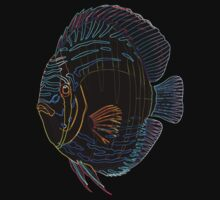 Neon fishy by Iscariot