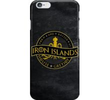 Born and Raised at the Iron Islands iPhone Case/Skin