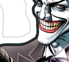 joker loves apple Sticker