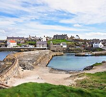 Portsoy 17th Century Old Harbour  by AndyMartin