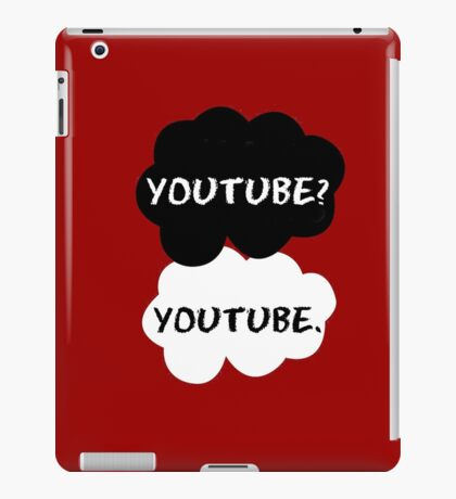 Youtube - TFIOS (red) iPad Case/Skin