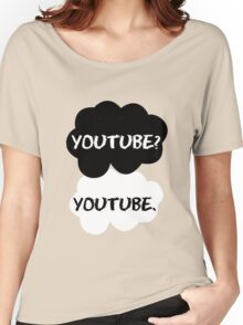 Youtube - TFIOS (red) Women's Relaxed Fit T-Shirt