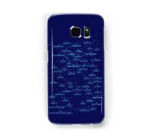 Sci-fi star map Samsung Galaxy Case/Skin