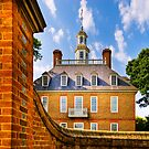 Beyond The Wall - Colonial Williamsburg by Mark Tisdale