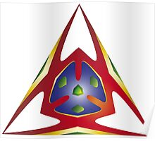 Alien Triangle Poster