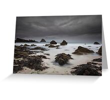 storm approaching, balnakeil Greeting Card