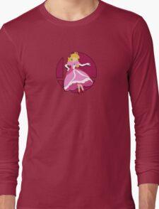 Smash Bros: Princess Peach Long Sleeve T-Shirt
