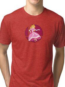 Smash Bros: Princess Peach Tri-blend T-Shirt