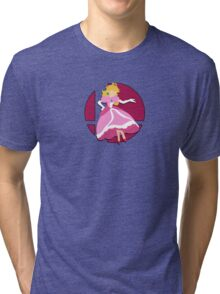 Smash Bros: Princess Peach Tri-blend T-Shirt