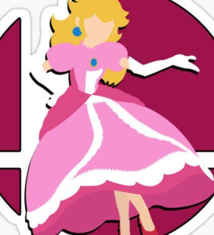 Smash Bros: Princess Peach Sticker