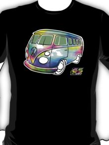 Psychedelic VW bus T-Shirt