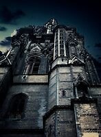 Gothic view by Karen Scrimes