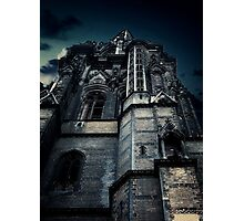 Gothic view Photographic Print