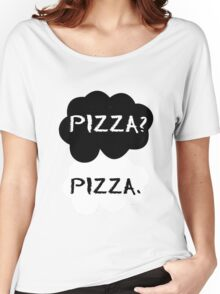 Pizza - TFIOS Women's Relaxed Fit T-Shirt