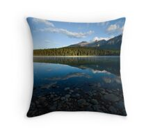 Patricia Lake, Canadian Rockies Throw Pillow