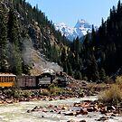Silverton & Durango Train by Robert Yone