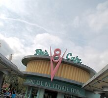 Flo's V8 Cafe by Disneylive