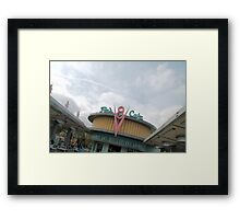 Flo's V8 Cafe Framed Print