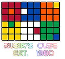 Rubik's Cube Est 1980 by GlesgaGeek