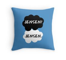 Jensen Ackles - TFIOS Throw Pillow