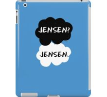Jensen Ackles - TFIOS iPad Case/Skin
