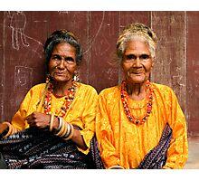 Welcoming Village Elders Photographic Print
