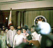 Ali-Frazier Courtesy Call on Philippine President Marcos. by cjkuntze