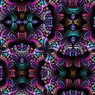 Colourful Spinning patterns by walstraasart