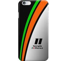 F1 2015 - #11 Perez iPhone Case/Skin