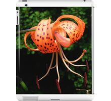 Tiger Lily iPad Case/Skin