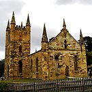 Port Arthur's Church by Chris  Willis