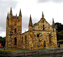 Port Arthur's Church by Chris  Willis