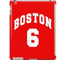 Jack Parker - BU #6 - red jersey iPad Case/Skin