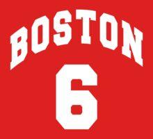 Jack Parker - BU #6 - red jersey Kids Clothes