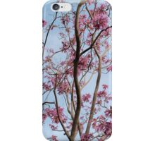 Flowers in the park iPhone Case/Skin