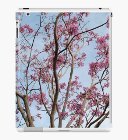 Flowers in the park iPad Case/Skin