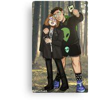 X Files UFO Party Canvas Print