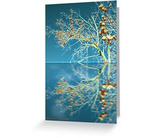 Persimmon Tree Greeting Card