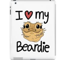 I love my beardie iPad Case/Skin