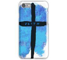 Faith on a Cross iPhone Case/Skin