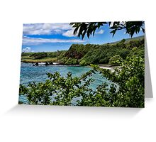Makena Beach ~ Maui Greeting Card